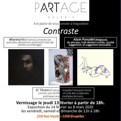 Partage galerie invitation Contraste